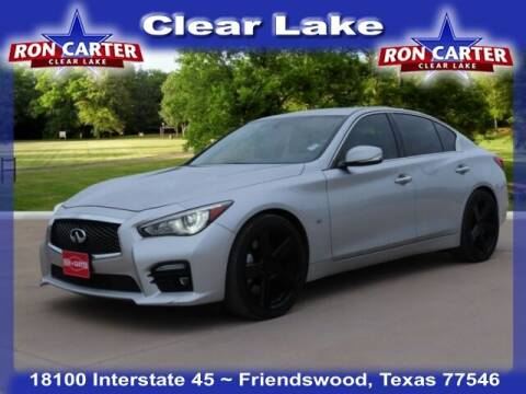 2015 Infiniti Q50 for sale at Ron Carter  Clear Lake Used Cars in Houston TX