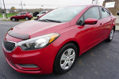 2016 Kia Forte for sale at MyEzAutoBroker.com in Mount Vernon OH