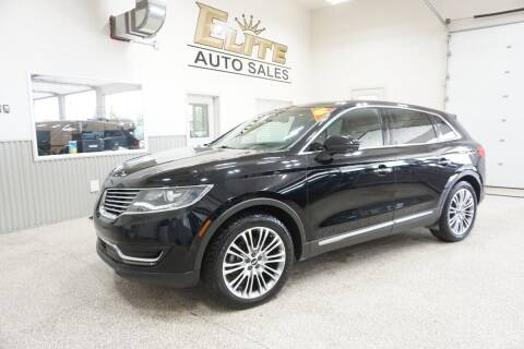 2016 Lincoln MKX for sale at Elite Auto Sales in Ammon ID