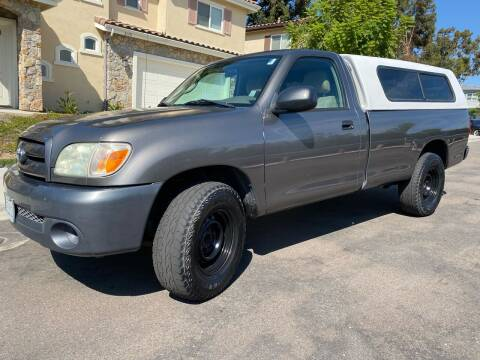 2006 Toyota Tundra for sale at CALIFORNIA AUTO GROUP in San Diego CA