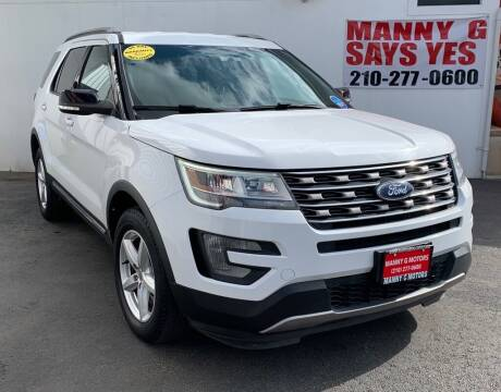 2017 Ford Explorer for sale at Manny G Motors in San Antonio TX
