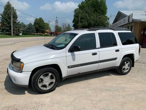 2004 Chevrolet TrailBlazer EXT for sale at GREENFIELD AUTO SALES in Greenfield IA