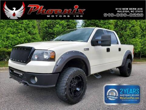 2008 Ford F-150 for sale at Phoenix Motors Inc in Raleigh NC