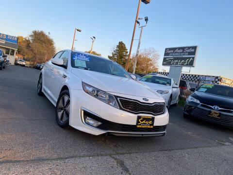 2013 Kia Optima Hybrid for sale at Save Auto Sales in Sacramento CA