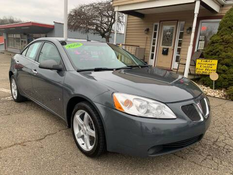 2008 Pontiac G6 for sale at G & G Auto Sales in Steubenville OH