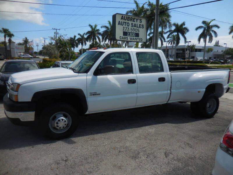 2006 Chevrolet Silverado 3500 for sale at Aubrey's Auto Sales in Delray Beach FL