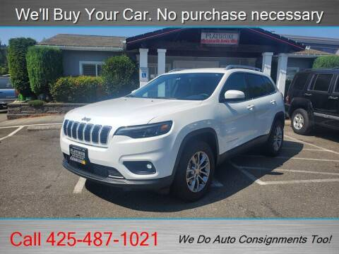 2019 Jeep Cherokee for sale at Platinum Autos in Woodinville WA