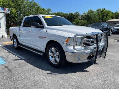 2017 RAM Ram Pickup 1500 for sale at Auto Solution in San Antonio TX