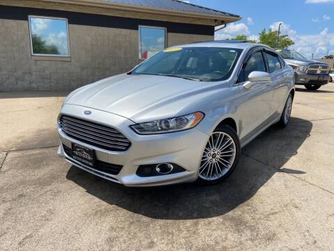 2014 Ford Fusion for sale at Auto House of Bloomington in Bloomington IL