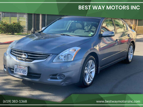 2011 Nissan Altima for sale at BEST WAY MOTORS INC in San Diego CA