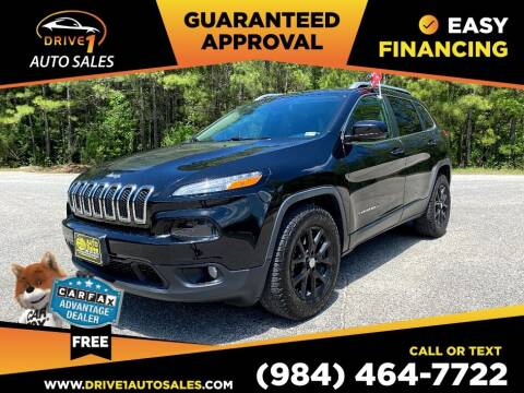 2015 Jeep Cherokee for sale at Drive 1 Auto Sales in Wake Forest NC