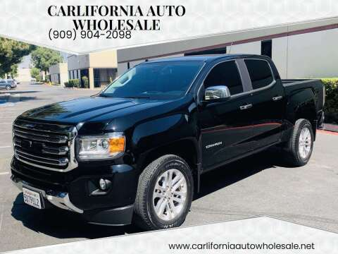 2018 GMC Canyon for sale at CARLIFORNIA AUTO WHOLESALE in San Bernardino CA