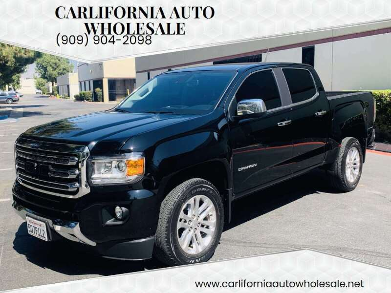 2018 GMC Canyon for sale at CARLIFORNIA AUTO WHOLESALE in San Bernardino CA