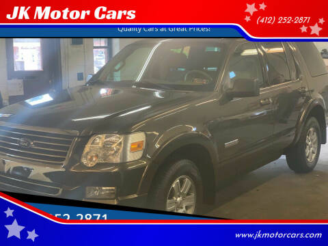2008 Ford Explorer for sale at JK Motor Cars in Pittsburgh PA