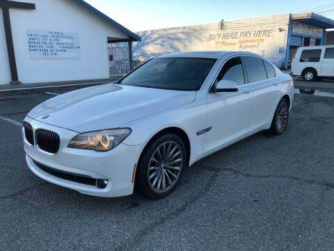 2011 BMW 7 Series for sale at All Cars & Trucks in North Highlands CA