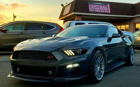 2017 Ford Mustang for sale at Central 1 Auto Brokers in Virginia Beach VA
