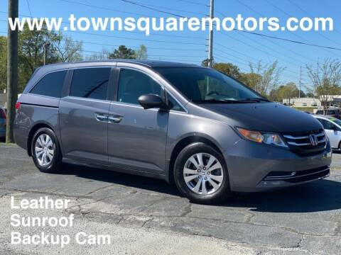 2015 Honda Odyssey for sale at Town Square Motors in Lawrenceville GA