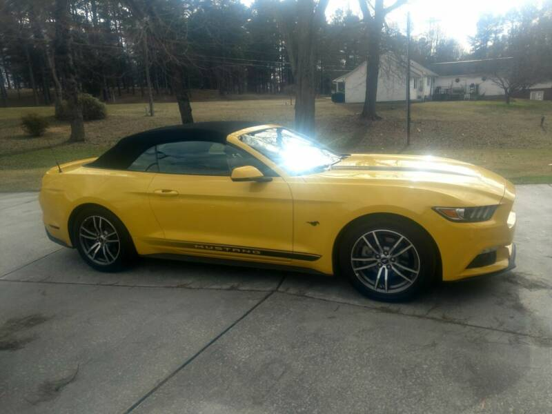 2017 Ford Mustang for sale at Lanier Motor Company in Lexington NC