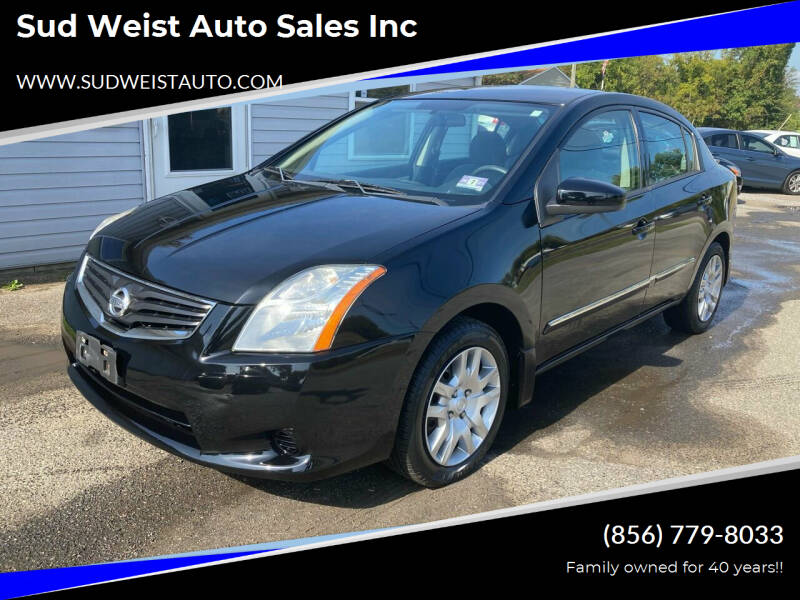 2012 Nissan Sentra for sale at Sud Weist Auto Sales Inc in Maple Shade NJ