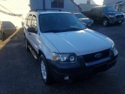 2007 Ford Escape for sale at Fortier's Auto Sales & Svc in Fall River MA