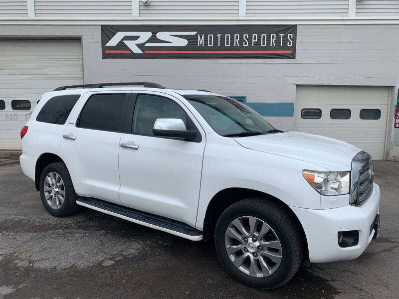 2010 Toyota Sequoia for sale at RS Motorsports, Inc. in Canandaigua NY
