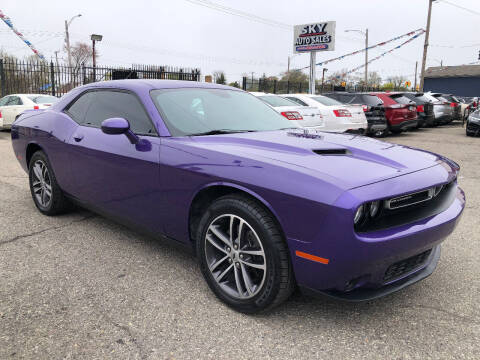 2019 Dodge Challenger for sale at SKY AUTO SALES in Detroit MI