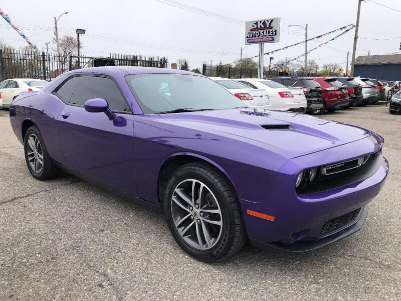 2019 Dodge Challenger for sale at SKY AUTO SALES in Detroit MI