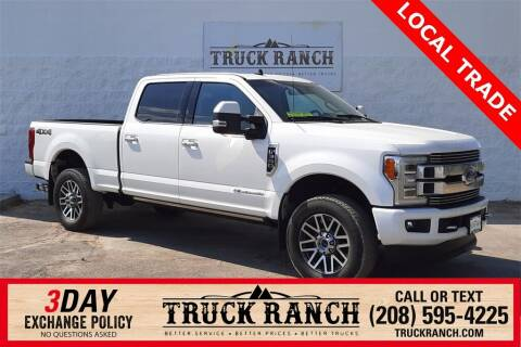 2019 Ford F-350 Super Duty for sale at Truck Ranch in Twin Falls ID