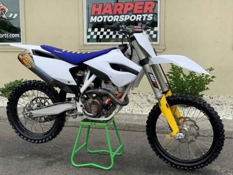 2014 Husqvarna FC250 for sale at Harper Motorsports-Powersports in Post Falls ID