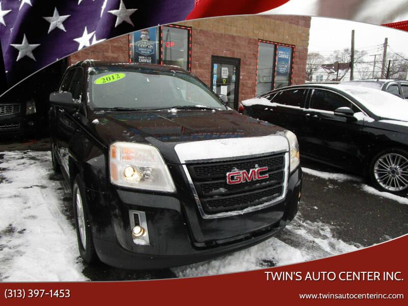 2012 GMC Terrain for sale at Twin's Auto Center Inc. in Detroit MI