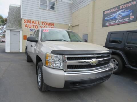 2008 Chevrolet Silverado 1500 for sale at Small Town Auto Sales in Hazleton PA