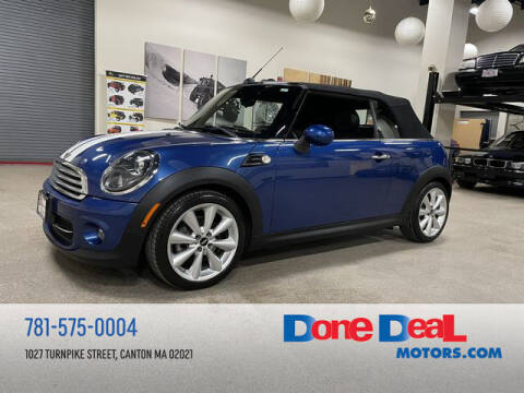 2015 MINI Convertible for sale at DONE DEAL MOTORS in Canton MA