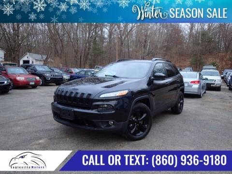 2016 Jeep Cherokee for sale at EAGLEVILLE MOTORS LLC in Storrs CT