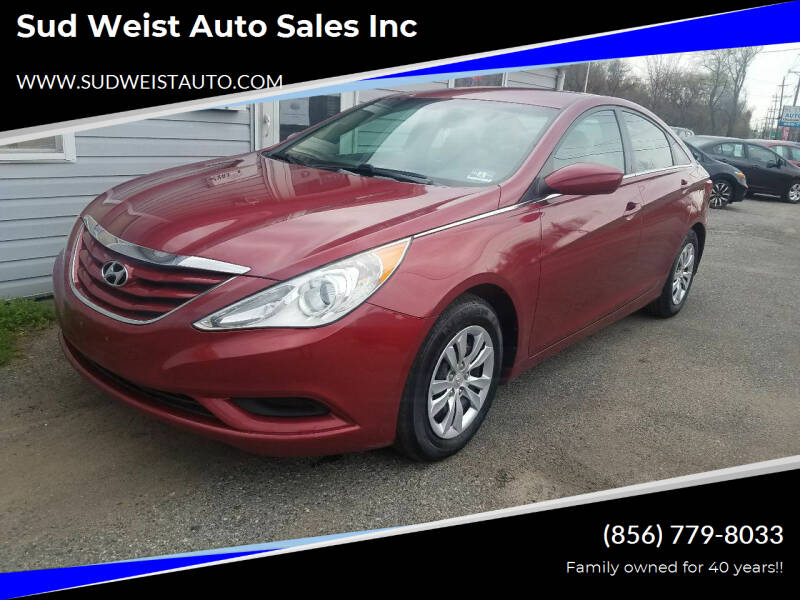 2012 Hyundai Sonata for sale at Sud Weist Auto Sales Inc in Maple Shade NJ