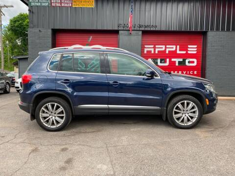 2016 Volkswagen Tiguan for sale at Apple Auto Sales Inc in Camillus NY