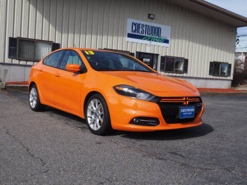 2013 Dodge Dart for sale at Crestwood Auto Sales in Swansea MA