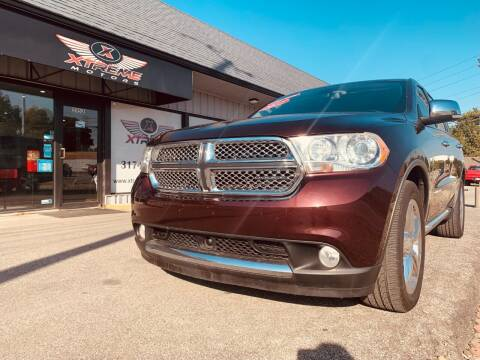 2012 Dodge Durango for sale at Xtreme Motors Inc. in Indianapolis IN