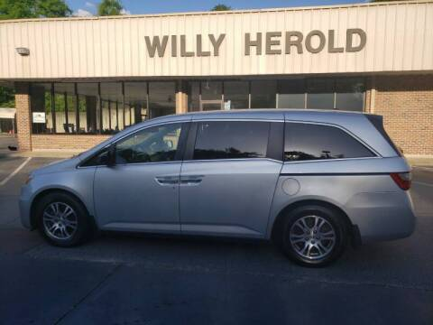 2011 Honda Odyssey for sale at Willy Herold Automotive in Columbus GA