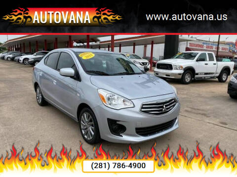 2019 Mitsubishi Mirage G4 for sale at AutoVana in Humble TX