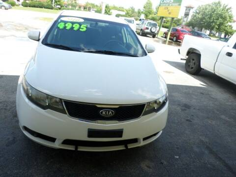 2010 Kia Forte for sale at Credit Cars of NWA in Bentonville AR