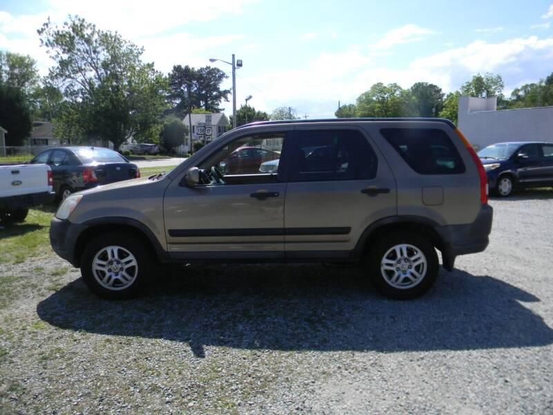 2003 Honda CR-V for sale at SeaCrest Sales, LLC in Elizabeth City NC