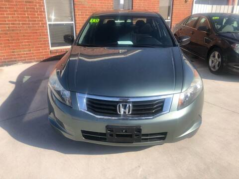 2010 Honda Accord for sale at Moore Imports Auto in Moore OK