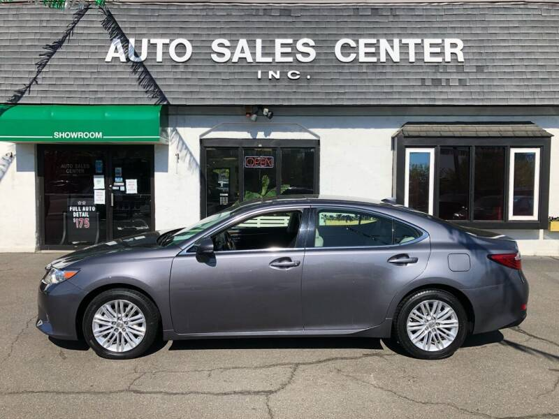 2015 Lexus ES 350 for sale at Auto Sales Center Inc in Holyoke MA