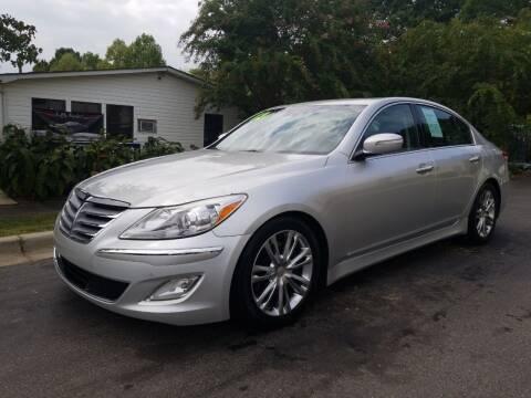 2012 Hyundai Genesis for sale at TR MOTORS in Gastonia NC