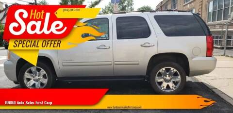 2011 GMC Yukon for sale at TURBO Auto Sales First Corp in Yonkers NY