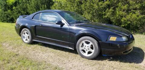 2003 Ford Mustang for sale at CAVENDER MOTORS in Van Alstyne TX