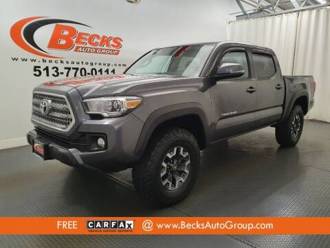 2017 Toyota Tacoma for sale at Becks Auto Group in Mason OH