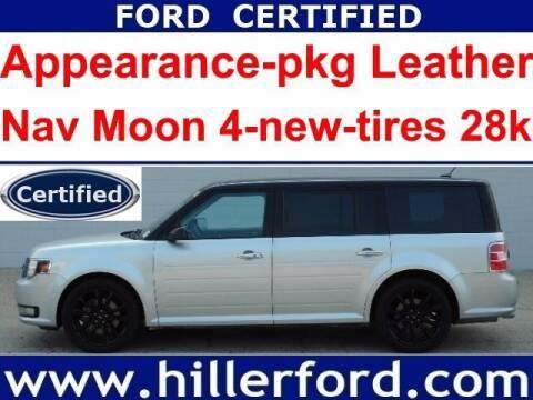 2018 Ford Flex for sale at HILLER FORD INC in Franklin WI