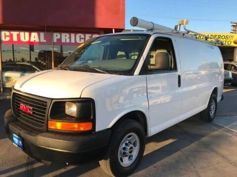 2009 GMC Savana Cargo for sale at Sanmiguel Motors in South Gate CA