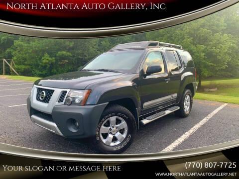 2011 Nissan Xterra for sale at North Atlanta Auto Gallery, Inc in Alpharetta GA